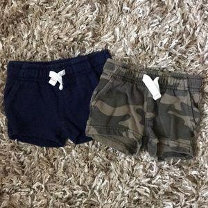2 baby shorts